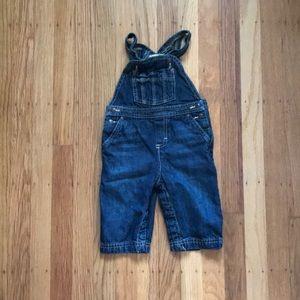 Baby denim overalls